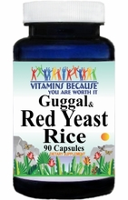 8022 Buy 1 Get 2 Free Guggul and Red Yeast Rice 90caps