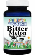 8428 Buy 1 Get 2 Free Bitter Melon Standardized Extract 500mg 90caps or (180caps Scroll Down)