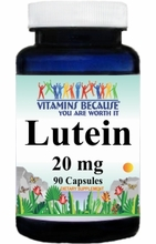 8947 Buy 1 Get 2 Free Lutein 20mg 90caps or (180caps Scroll Down)