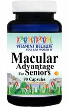 9036 Buy 1 Get 2 Free Macular Advantage for Seniors 90caps or (180caps Scroll Down)