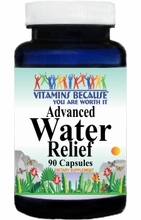 9159 Buy 1 Get 2 Free Advanced Water Relief 90caps
