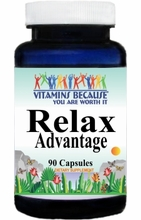 9531 Buy 1 Get 2 Free Relax Advantage 90caps