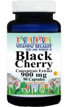 9913 Buy 1 Get 2 Free Black Cherry Concentrate Extract 900mg 90caps or (180caps Scroll Down)