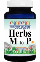 Herbs (M to P) View All