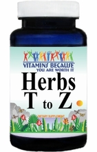 Herbs (T to Z) View All