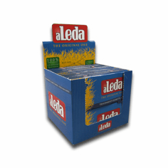 Aleda Clear Rolling Papers Blue Box of 30
