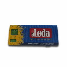 Aleda Clear Rolling Papers Blue Single Pack