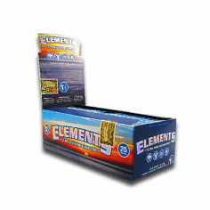 Elements Rice Rolling Papers 1 1/2 Box of 24
