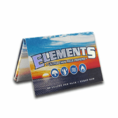 Elements Rice Rolling Papers 1 1/2 Single Pack