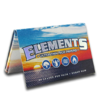 Elements Rice Rolling Papers 1 1/2 Size