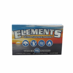 Elements Rice Rolling Papers 300ct Single Pack