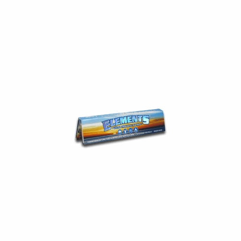 Elements Rice Rolling Papers Connosseur Single Pack
