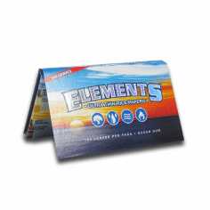 Elements Rice Rolling Papers Double Pack