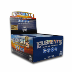 Elements Rice Rolling Papers King Size Box of 24
