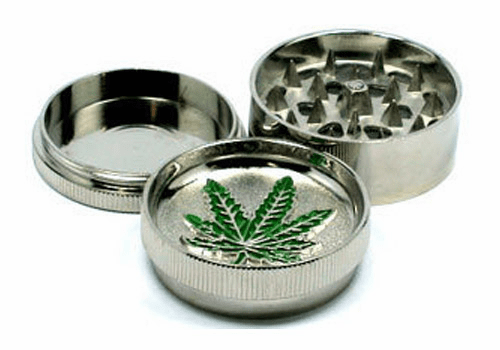 Metal 3pc Tobacco Grinder Designs Vary..
