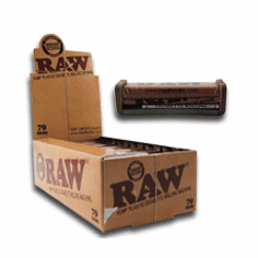 Raw 1 1/4 Hemp Rolling Machine