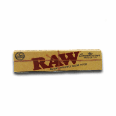 Raw Organic Rolling Papers Connosseur Single Pack