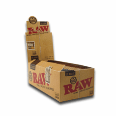 Raw Rolling Papers Classic 1 1/2 Size Box of 24