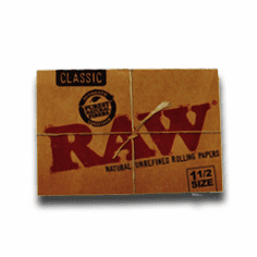Raw Rolling Papers Classic 1 1 /2 Size Single Pack