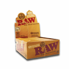 Raw Rolling Papers Classic King Size Slim Box Of 24