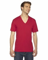 American Apparel Unisex Short-Sleeve V-Neck T-Shirt