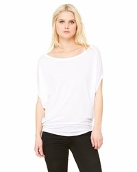 Ladies' Flowy Scooped Neck Top