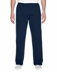 Men's Lightweight Open-Bottom Pocket Sweatpants