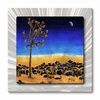 Agave Moon Landscape Metal Art