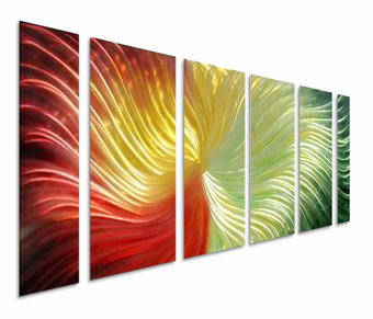 Allure of Color Wall Art Set of 6