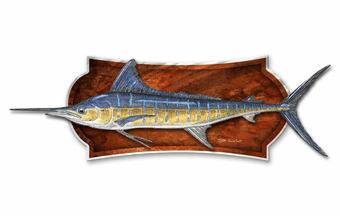 Amazing Swordfish Wall Plaque
