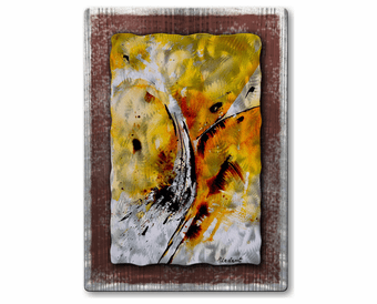 Ardent Avalanche Handmade Metal Wall Hanging