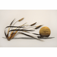Beach Breezes and Reeds Coastal Wall Art