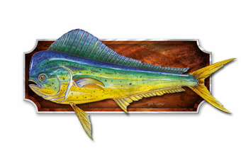 Blunt Nose Fish Wall Plaque