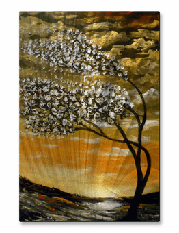 Brimming with Blossoms Tree Art