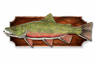 Brook Trout Wall Trophy