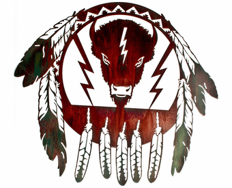 Buffalo Dream Catcher Wall Art