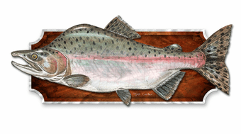 Catch of the Day Fish Plaque
