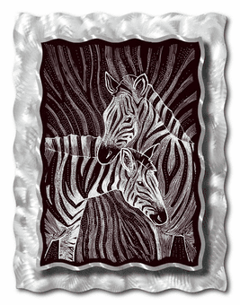 Connections of Life Zebra Art