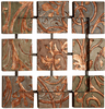 Copper Foliage Wall Hanging