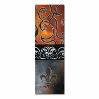 Coronation Fleur de Lis Wall Decor