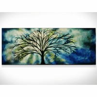 Dawn of Enchantment Tree Wall Art