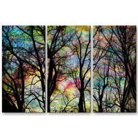 Evening Descends Tree Wall Art