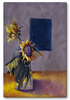 Fading Summer Sunflower Art