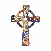 Faithful Followers Metal Wall Cross