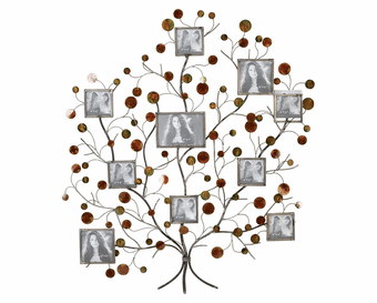 Family Tree Metal Wall Sculpture