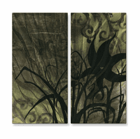 Flowers at Dawn Wall Art Set of 2
