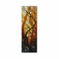 Gnarled Tree Handmade Metal Wall Hanging