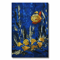Golden Swimmers of the Sea Artwork