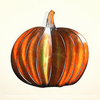 Harvest Time Pumpkin Wall Art