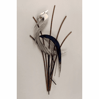 Heron in Repose Wildlife Wall Decor